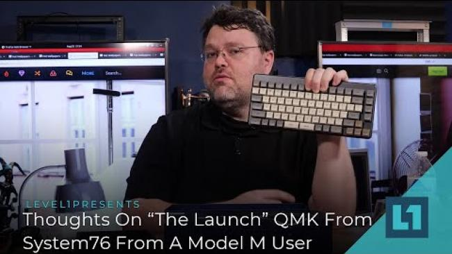 """Embedded thumbnail for Thoughts On """"The Launch"""" QMK FromSystem76 From A Model M User"""