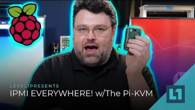 Embedded thumbnail for IPMI EVERYWHERE! w/The Pi-KVM