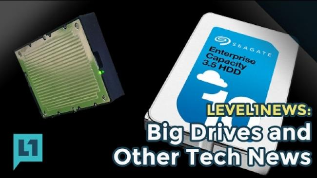 Embedded thumbnail for L1News: 2017 01 31 Big Drives and Other Tech News