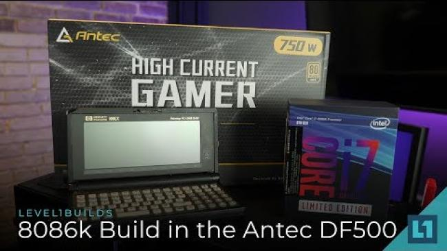 Embedded thumbnail for Antec DF500 RGB, MSI Gaming TrioX & Intel 8086k Build + Benchmarks