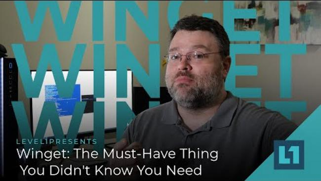 Embedded thumbnail for Winget: The Must-Have Thing You Didn't Know You Need