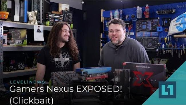 Embedded thumbnail for Gamers Nexus EXPOSED! (Clickbait?)