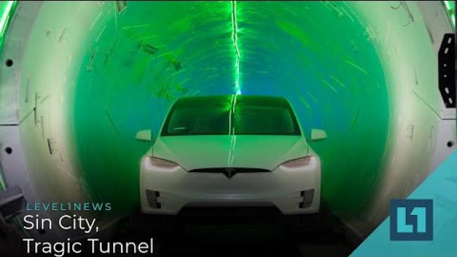 Embedded thumbnail for Level1 News April 21 2021: Sin City, Tragic Tunnel