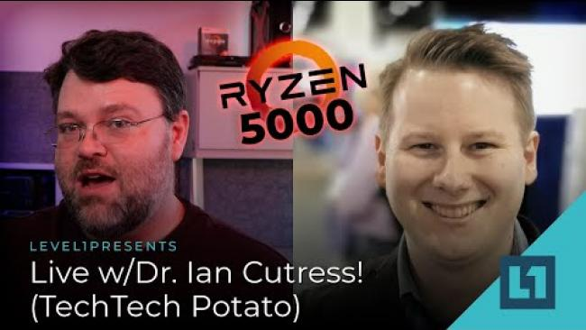 Embedded thumbnail for Ryzen is Released - Rant/Rave with Tech Tech Potato (Dr. Ian Cutress
