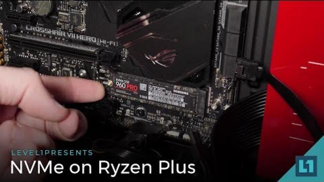 Embedded thumbnail for NVMe RAID on the Asus Crosshair Hero VII w/Ryzen 2700X Setup Guide