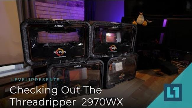 Embedded thumbnail for Checking Out the Threadripper 2970WX