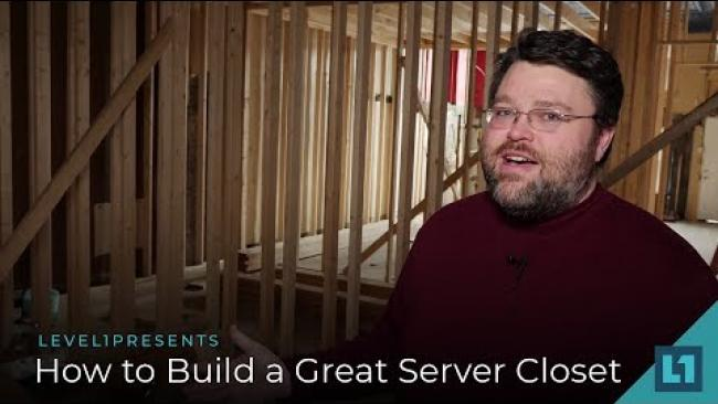 Embedded thumbnail for How To Build A Great Server Closet (for small/medium businesses)
