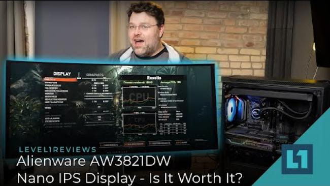 Embedded thumbnail for Alienware AW3821DW Nano IPS Display - Is It Worth It?