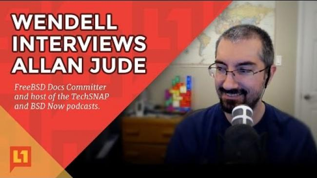 Embedded thumbnail for Allan Jude Interview with Wendell - ZFS Talk & More