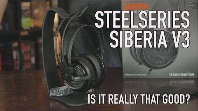 Embedded thumbnail for SteelSeries Siberia V3 Headset - Is It Really That Good?
