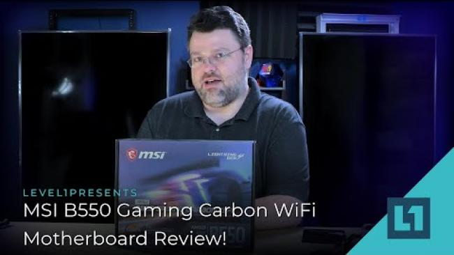 Embedded thumbnail for MSI B550 Gaming Carbon WiFi - Motherboard Review!