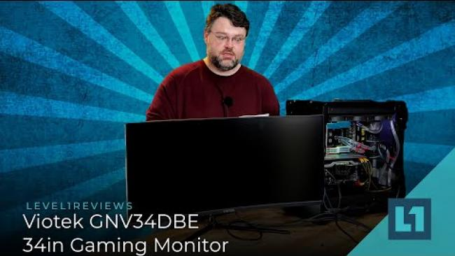Embedded thumbnail for Viotek GNV34DBE 34in Gaming Monitor Review