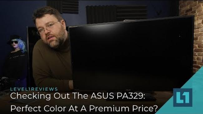 Embedded thumbnail for Checking Out The ASUS PA329: Perfect Color At A Premium Price?