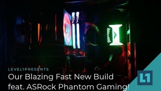 Embedded thumbnail for Our Blazing Fast New Build Featuring ASRock Phantom Gaming!