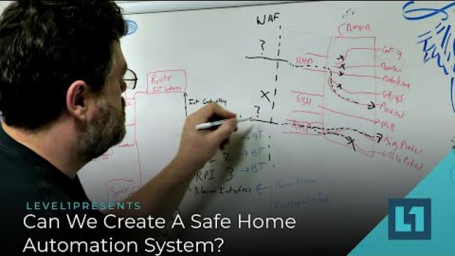 Embedded thumbnail for Building A Better IoT Part 2: Can We Create A Safe Home Automation System?
