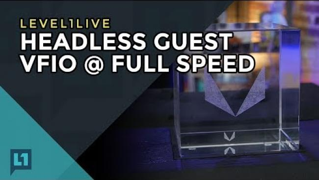 Embedded thumbnail for Livestream: Threadripper Fully Operational for VFIO/Passthrough