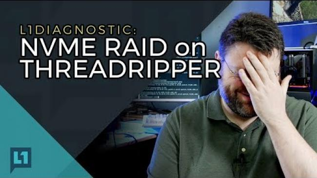 Embedded thumbnail for Infosec on the Threadripper NVMe Drivers, a Level1 Diagnostic