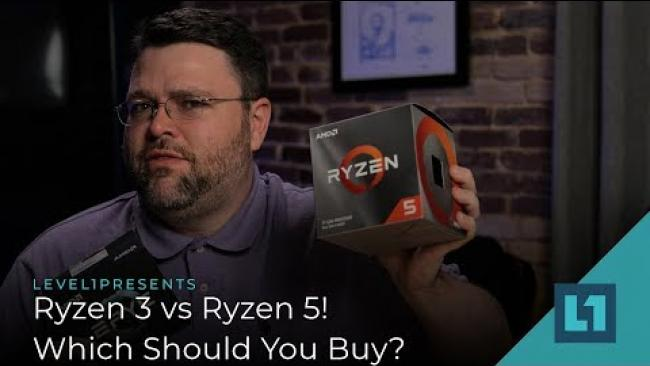 Embedded thumbnail for Ryzen 3 vs Ryzen 5! Which Should You Buy?
