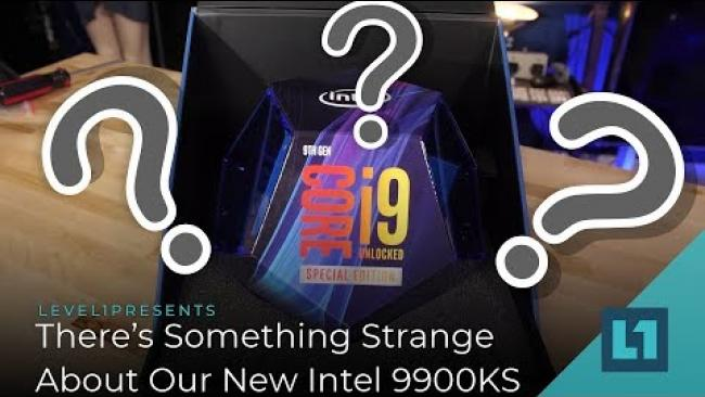 Embedded thumbnail for There's Something Strange About Our New Intel 9900KS... (Unboxing)