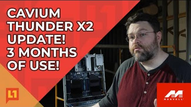 Embedded thumbnail for Cavium Thunder X2: 3 Months Later -- FreeBSD, OpenSuse, RedHat
