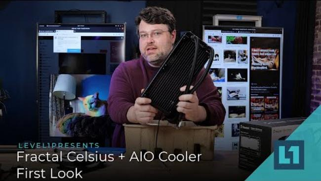 Embedded thumbnail for Fractal Celsius+ S28 Prisma AIO Coolder - First Look!
