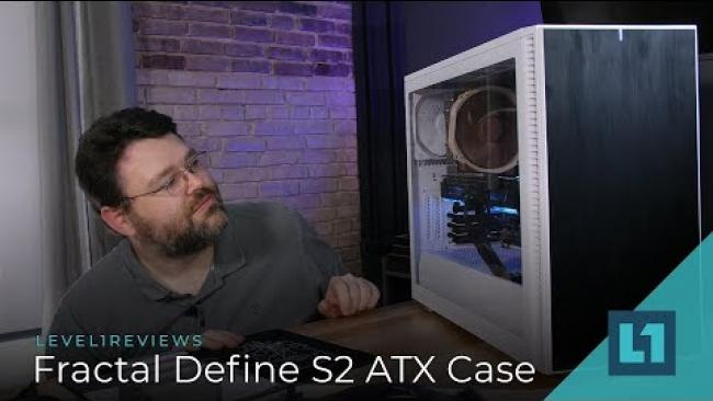 Embedded thumbnail for Fractal Define S2 ATX Case Review + Build