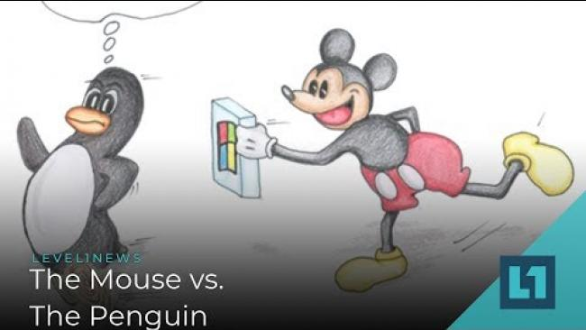 Embedded thumbnail for Level1 News October 30 2019: The Mouse vs. The Penguin