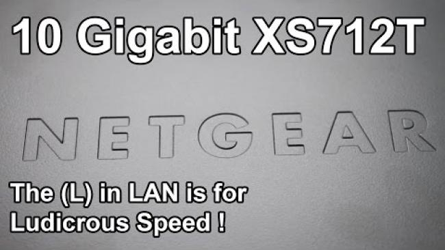 Embedded thumbnail for Netgear XS712T Unboxing & Overview