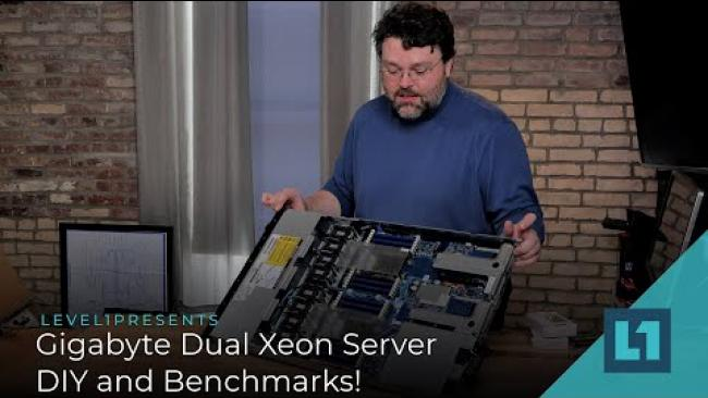 Embedded thumbnail for Gigabyte Dual Xeon Server DIY and Benchmarks!