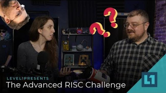 Embedded thumbnail for The Advanced RISC Challenge