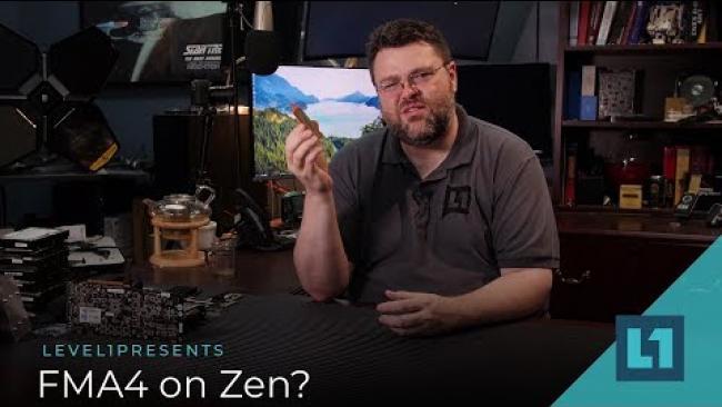 Embedded thumbnail for FMA4 on Zen: Forgotten Instruction set, but not yet gone