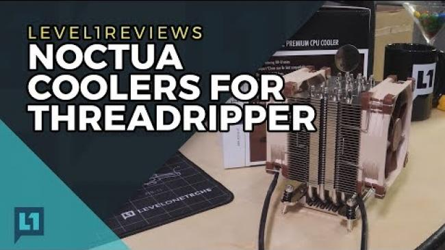 Embedded thumbnail for Noctua Coolers for Threadripper