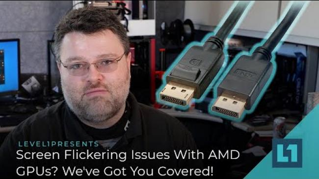Embedded thumbnail for Flickering Issues With AMD GPUs? We've Got You Covered! Driver Settings And  Choosing Proper Cables