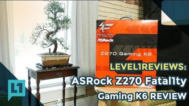Embedded thumbnail for ASRock Z270 Fatal1ty Profess1onal Gaming K6 Review
