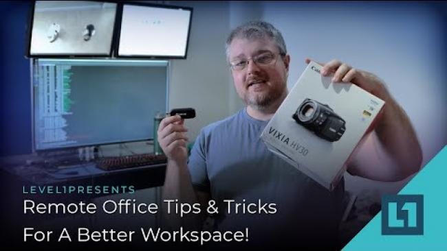 Embedded thumbnail for Remote Office Tips & Tricks For A Better Work-space!