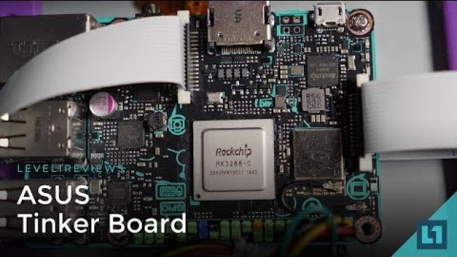 Embedded thumbnail for ASUS Tinker Board