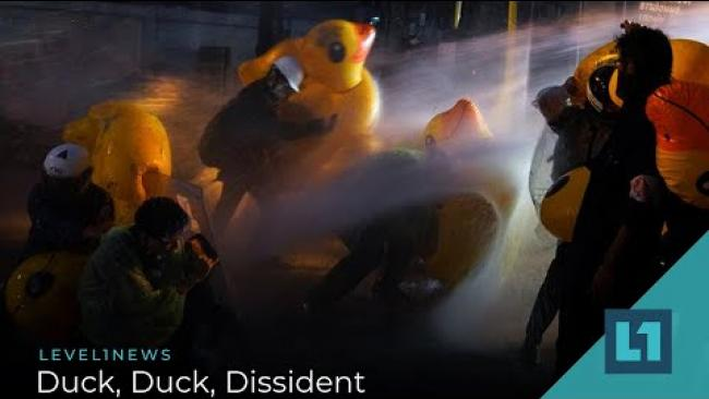 Embedded thumbnail for Level1 News November 27 2020: Duck, Duck, Dissident
