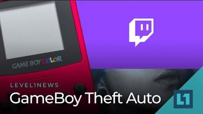 Embedded thumbnail for Level 1 News Oct. 15: GameBoy Theft Auto