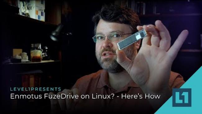 Embedded thumbnail for Enmotus FuzeDrive On Linux? - Here's How