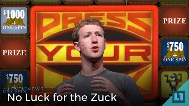 Embedded thumbnail for Level1 News April 10 2018: No Luck for the Zuck Patreon Edition