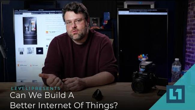 Embedded thumbnail for Can We Build A Better Internet Of Things?