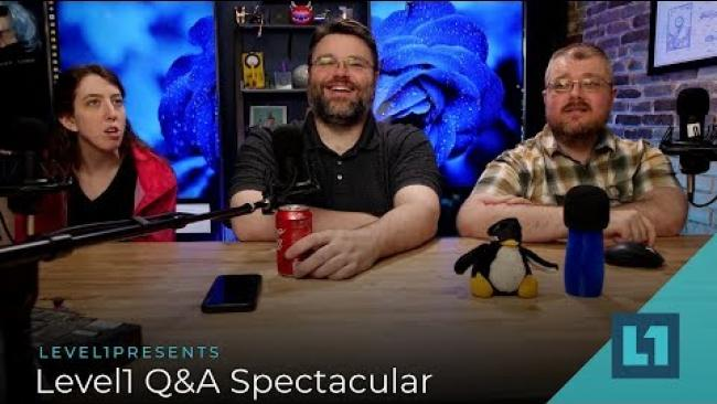 Embedded thumbnail for Level1 Q&A Spectacular!