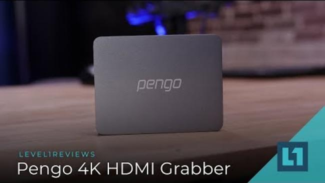Embedded thumbnail for Pengo 4K (4k ish) HDMI Grabber Review