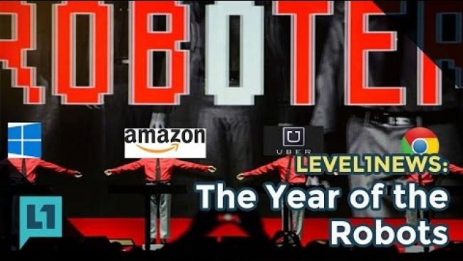 Embedded thumbnail for Level1News: 2017-01-03 The Year of the Robots