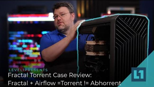 Embedded thumbnail for Fractal Torrent Case Review: Fractal + Airflow =Torrent != Abhorrent