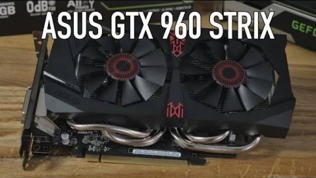 Embedded thumbnail for ASUS GTX 960 STRIX Review & Benchmarks