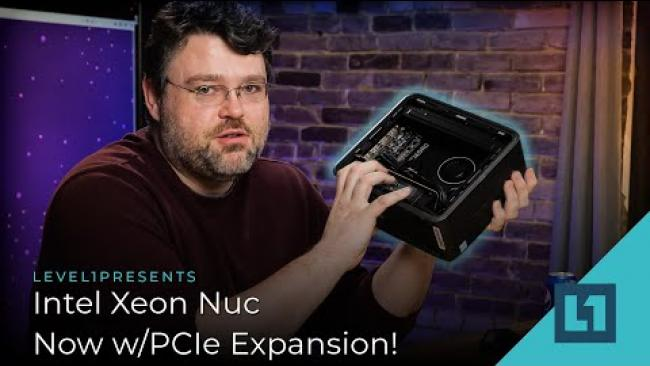 Embedded thumbnail for Intel Xeon Nuc, Now w/PCIe Expansion!