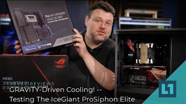 Embedded thumbnail for GRAVITY-Driven Cooling! -- Testing The IceGiant ProSiphon Elite