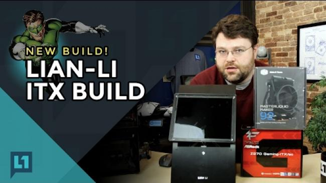 Embedded thumbnail for Tiny PC Project Build: Z270 ITX And LCD in a PC Q30