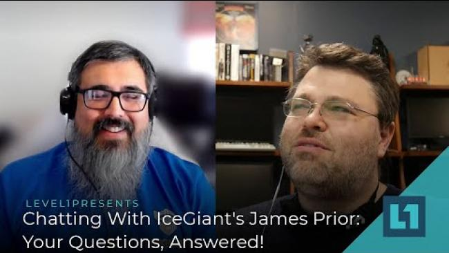 Embedded thumbnail for Chatting With IceGiant's James Prior: Your Questions, Answered!